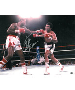 Larry Holmes signed Boxing 16x20 Photo vs Ali w/ Easton Assassin (under the ligh - $47.95