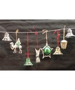 20 Vintage 50s/60s Plastic Cage Christmas Tree Ornaments - $24.99