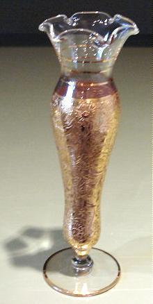Vase  gold overlay 1