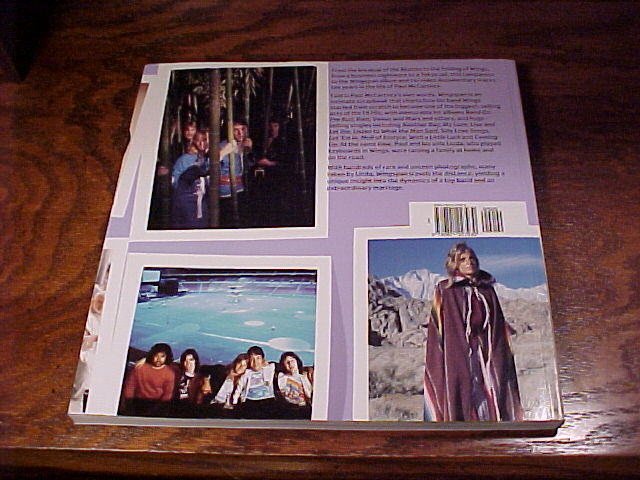 Paul McCartney's Band on the Run Wingspan Book, softcover