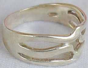 Silver hod ring