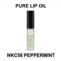 NICKA K NEW YORK PURE LIP OIL NKC58 PEPPERMINT HYDRATING LIP WITH ARGAN OIL - $1.77