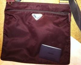 *REDUCED* Prada Tessuto nylon flat messenger bag - $295.00
