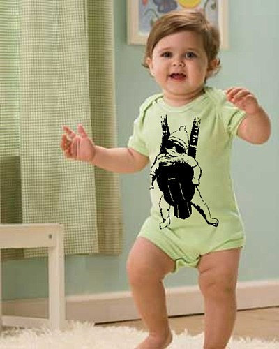 Funny BABY CARRIER 6m 12m 18m 24m Movie creeper outfit