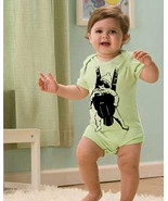 Funny BABY CARRIER 6m 12m 18m 24m Movie creeper outfit  - $19.99