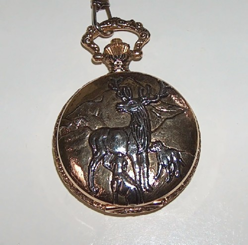 Deer Pocket Watch Quartz by Celebrity