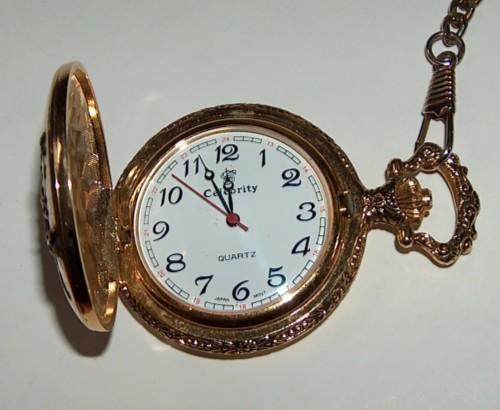 Deer pocket watch quartz by celebrity modern for Celebrity quartz watch