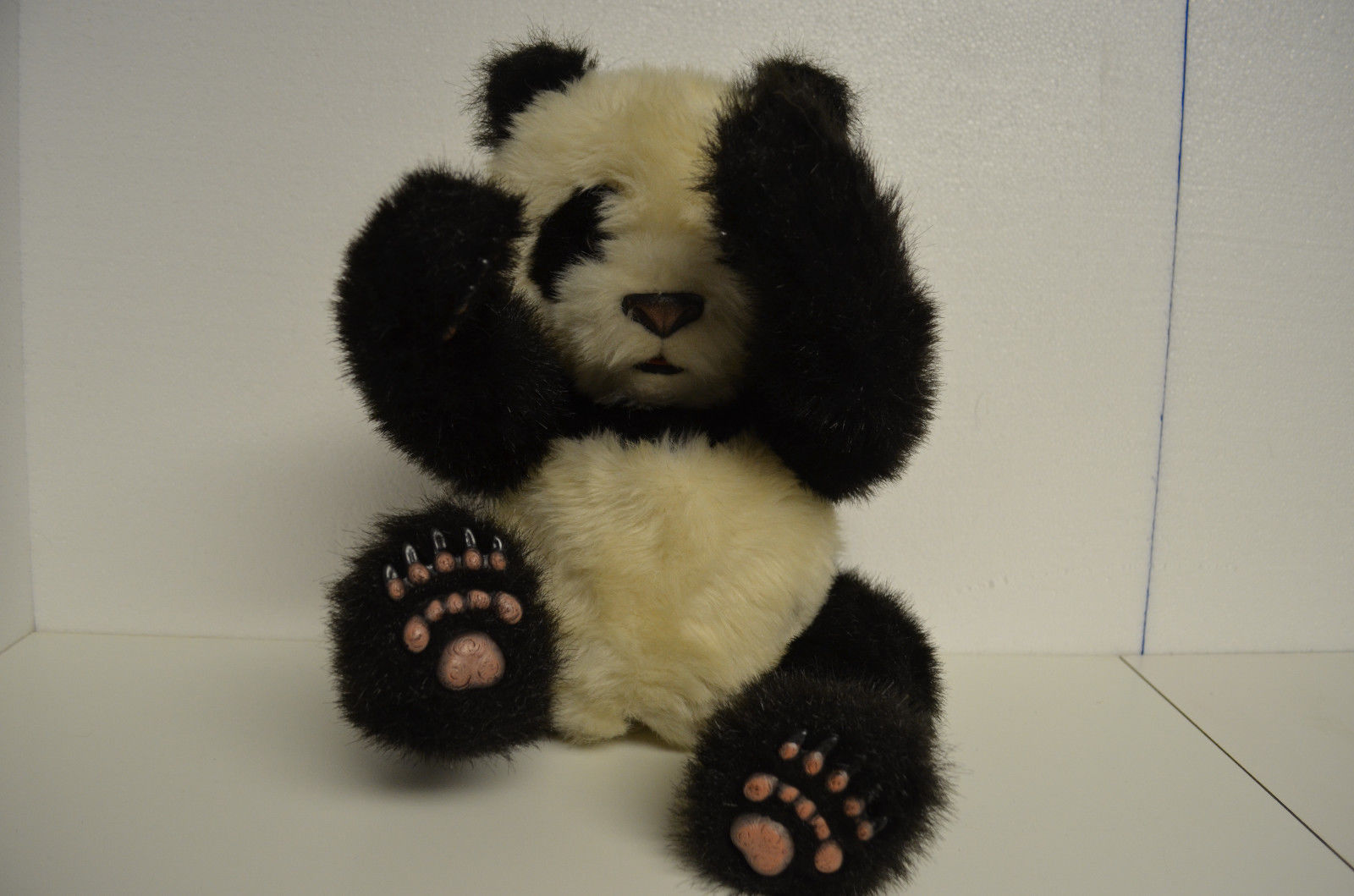 2004  Panda Bear Fur Real Friends Tiger Electronics Interactive Luv Cubs