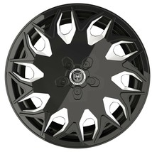 4 Wheels GV06 20 Inch Black Mill Rims Fits Ford Mustang Ecoboost I4 W/PERF. Pkg. - $799.99