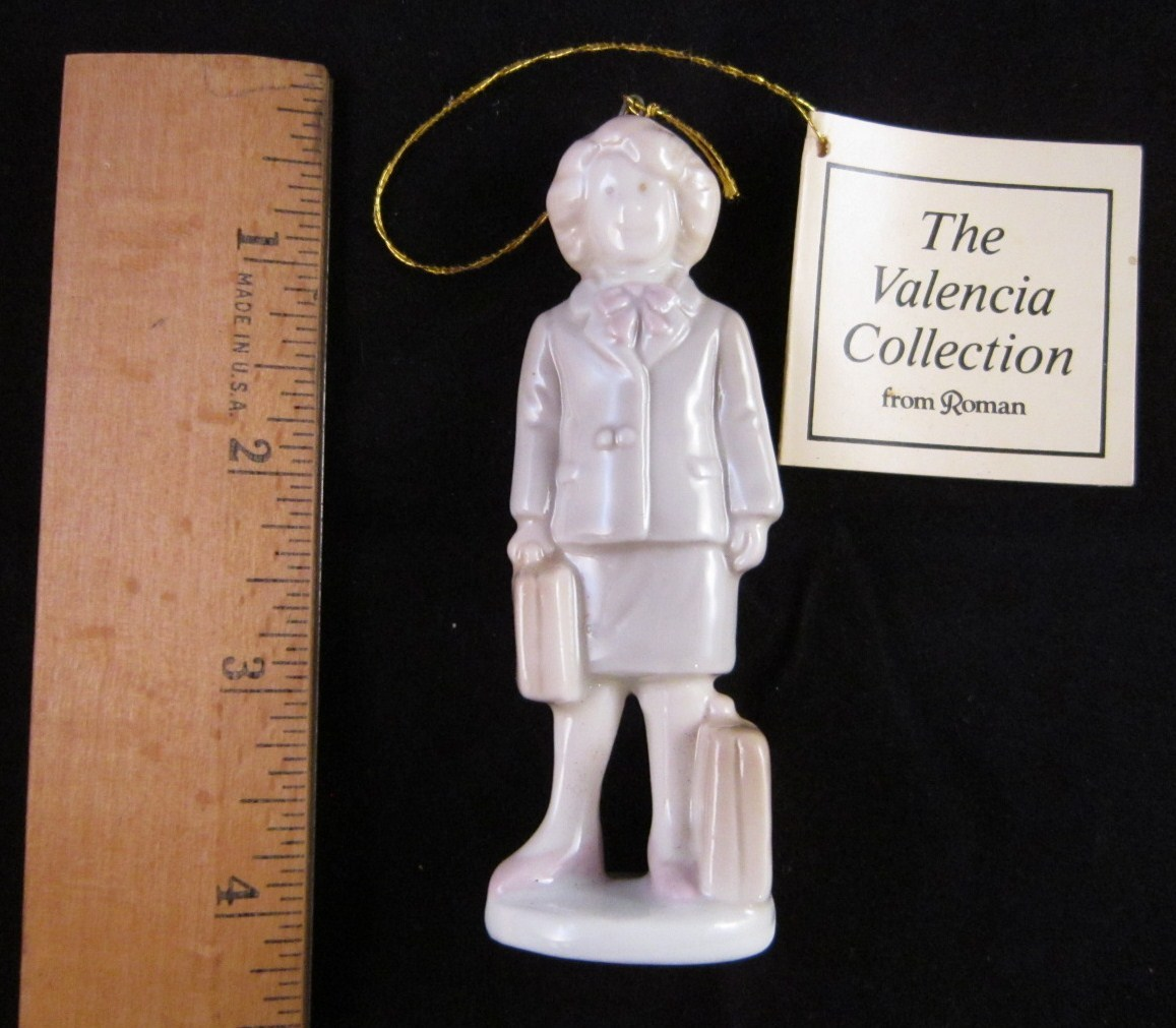 Valencia Collection by Roman Inc 1985 Woman Figurine