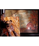 original art 3-D painting ceramic combined farm... - $24.99