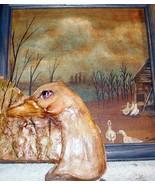 original art 3-D painting ceramic combined farm... - $29.99