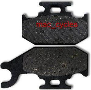 Bombardier Disc Brake Pads Traxter 01-03 Rear (1 set)