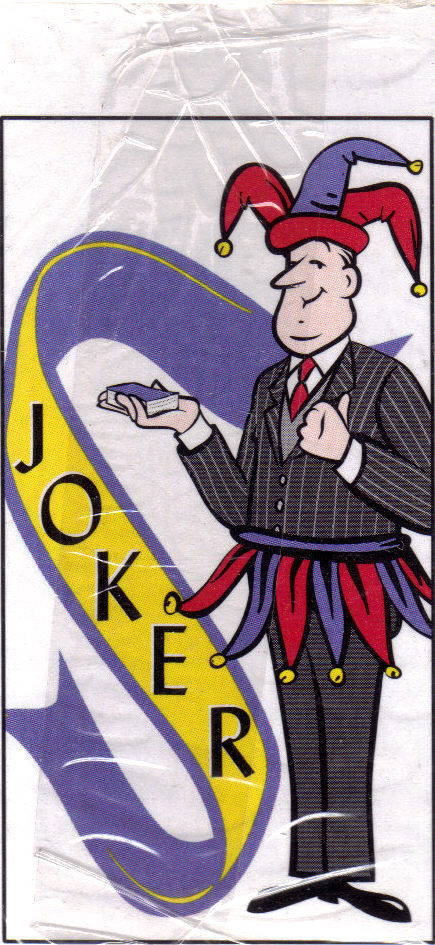 ASK JEEVES No. 1 Club Special  Promo Playing Cards