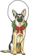 Primitives by Kathy Ornament - Christmas German Shepherd Home Decor - $15.93