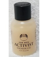 The Body Shop ACTIVIST Shower Gel Men Wheat Protein Travel Size 1 oz/30m... - $6.93