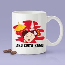 New Mug - Aku Cinta Kamu  Indonesia [Gift Idea For Him or Her   - $10.99+