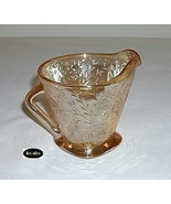 Floragold Marigold Iridescent Creamer Jeannette  - $7.95