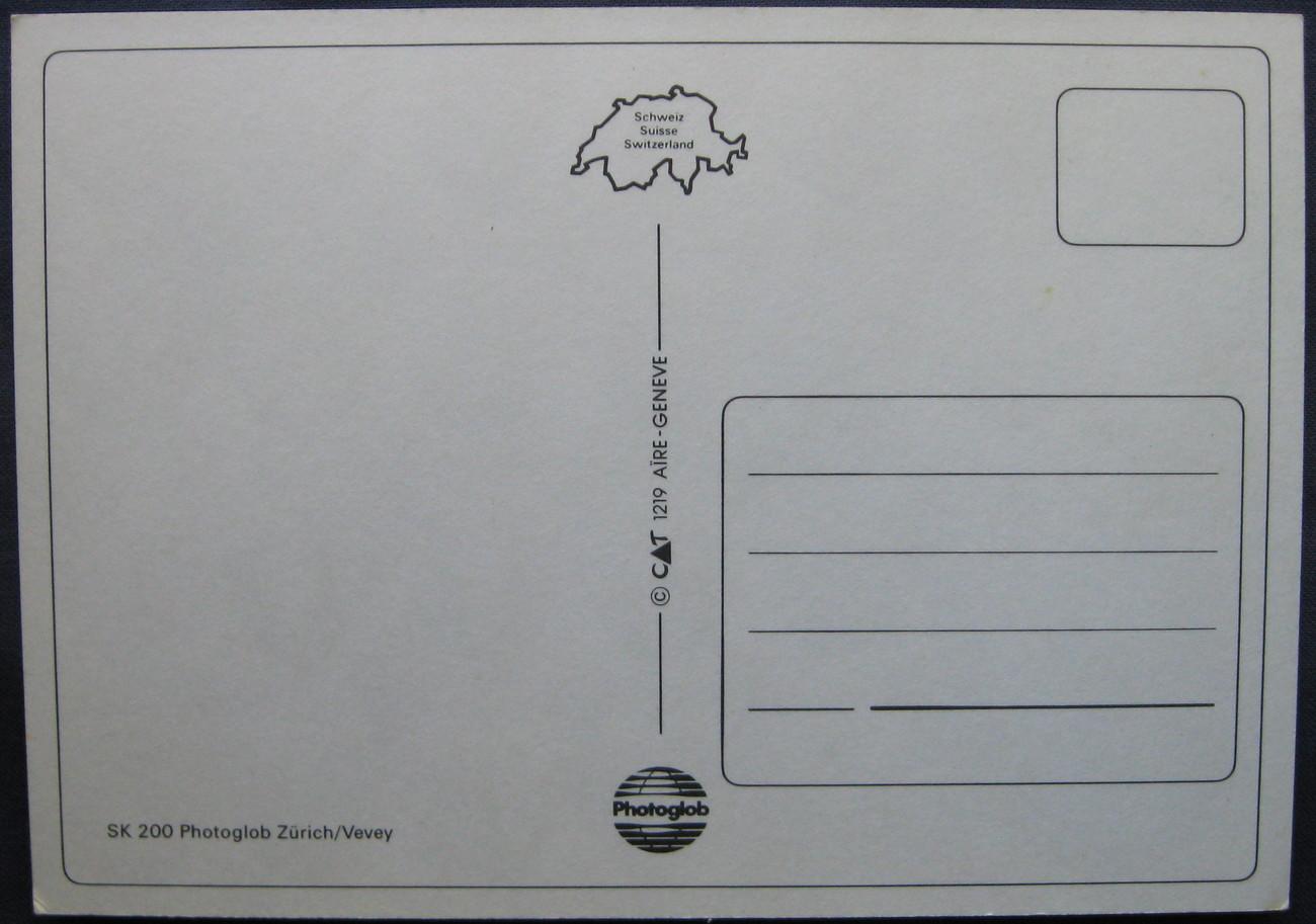 Photoglob, Swiss Postcard, City Arms of Switzerland stickers
