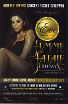 FEMME FATALE @ EVE Nightclub Las Vegas  Promo Card - $2.95
