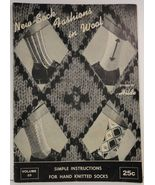 New Sock Fashions in Wool by Hilde Volume 69 - $4.75