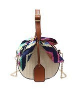 Luxury New Vintage Women Straw Crossbody Bag Handbag Small Shoulder Mess... - €18,40 EUR