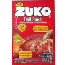 Zuko Fruit Pnch Drink Mix (96x0.9OZ ) - $81.37