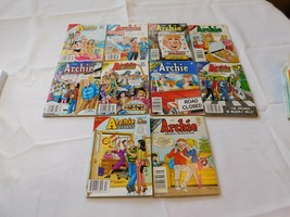 The Archie Library Lot of 10 Archie Digest Magazines 256, 237, 229, 223,... - $18.70