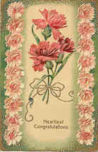 Heartiest Congratulations Paul Finkenrath Vintage Post Card - $5.00