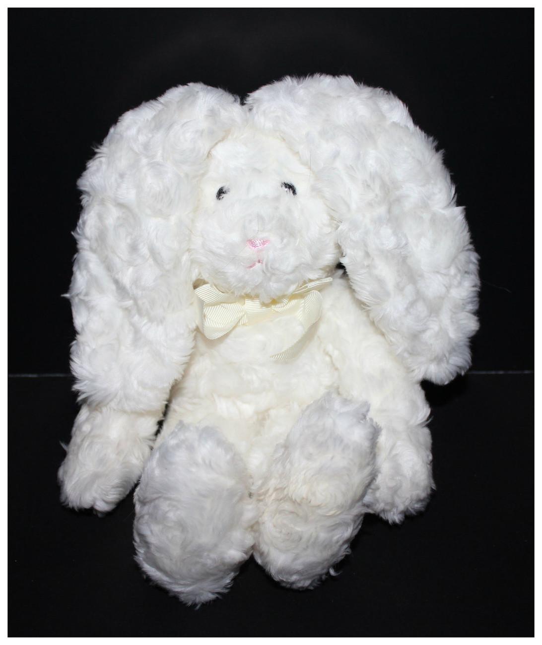 """Gymboree 12"""" Floppy White Easter Bunny Rabbit Plush  - $18.27"""
