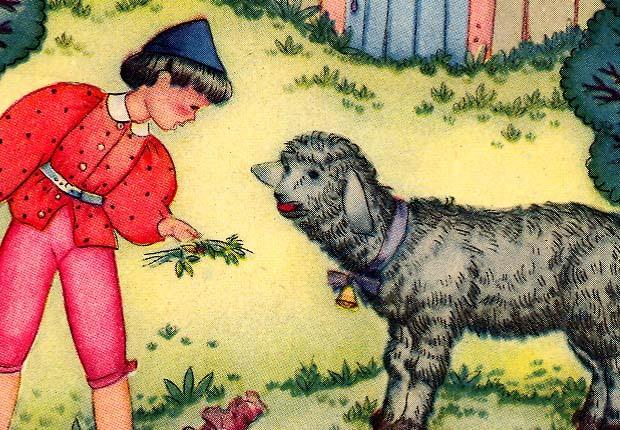 Baa Baa Black Sheep 1944 Folk Art Book Print Margot Austin