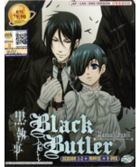 Anime DVD Black Butler Kuroshitsuji Season 1-3 + Movie + 9 OVA English D... - $39.99