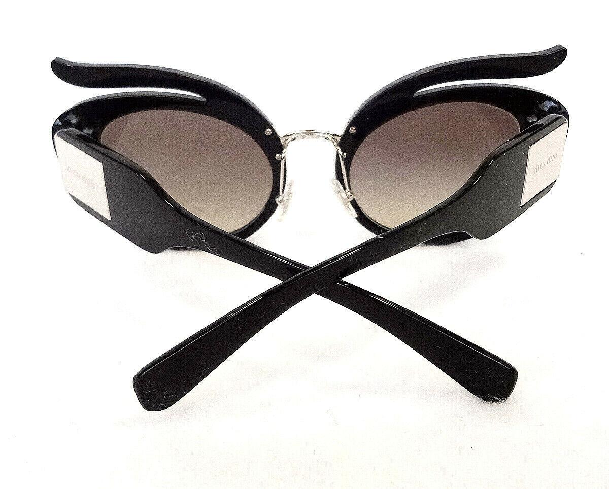 MIU MIU Women's Sunglasses MU04TS VW35O0 140 Black MADE IN ITALY - New!