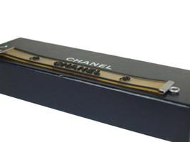 Authentic CHANEL Chanel Logo & Clover Rubber Band Bracelet CA17551L - $159.00