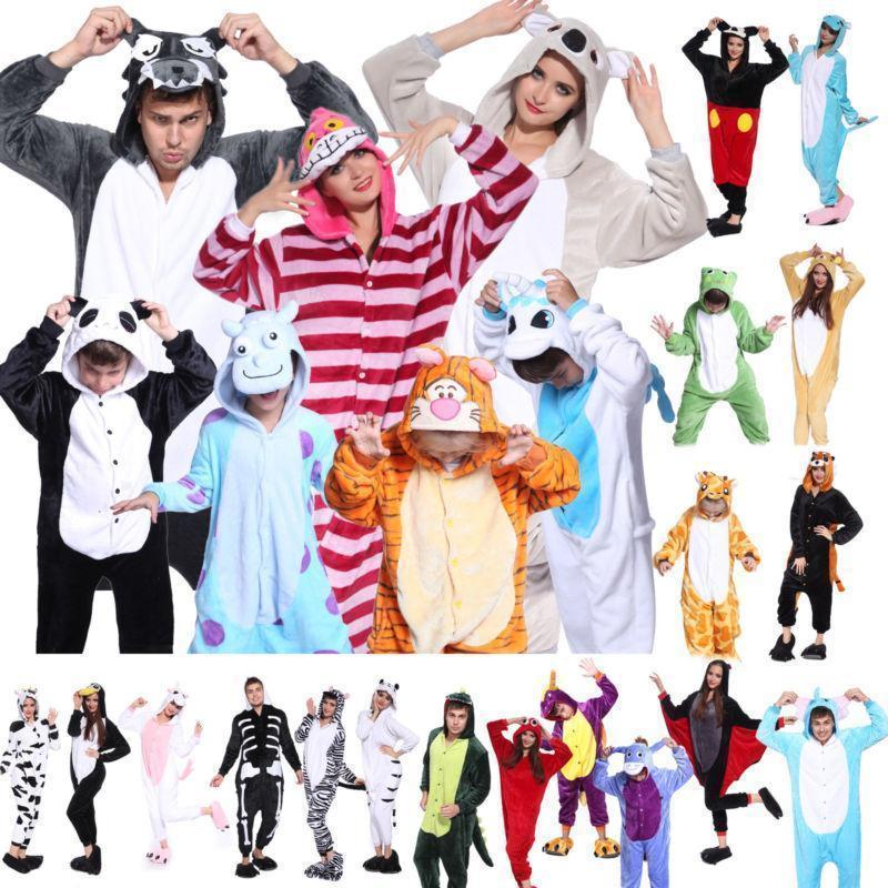 Primary image for Hot Unisex Animal Onesie1 Adult Pajamas Kigurumi Cosplay Costume Sleepwear Robe