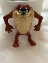 """2.5"""" Tasmanian Devil Vintage Figurine TAZ 1991 Warner Bros Looney Toons Used - $23.38"""