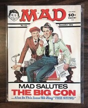 1974 December Mad Magazine #171 The Big Con Great Cover - $18.52