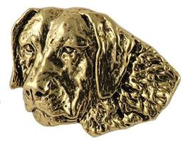 Creative Pewter Designs, Chesapeake Handcrafted Dog Magnet, 24k Gold Pla... - $22.99
