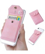 Adhesive Phone Wallet And RFID Blocking Sleeve, YUNCE Cell Phone Slim L... - $22.88