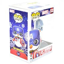 Funko Pop! Marvel Christmas Holiday Cap Snowman Captain America #532 Figure image 5