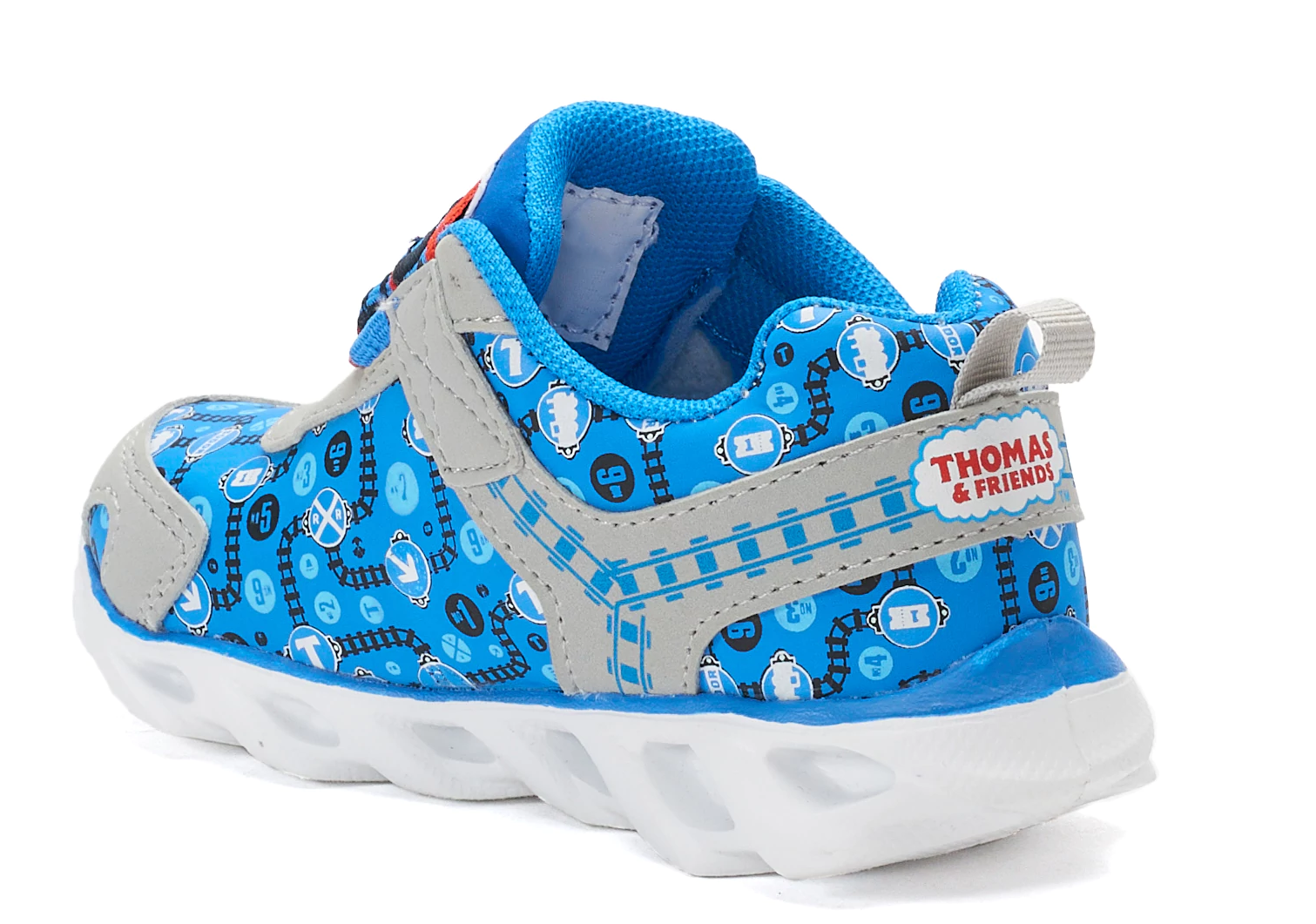 Baby Boys or Girls Thomas the Tank Engine Light Up Sneakers Shoes Size 5 Baby