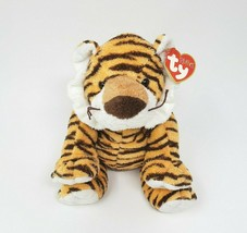 Ty Pluffies 2005 Growlers Striped Tiger Stuffed Animal Plush Toy Lovey W/ Tag - $42.08