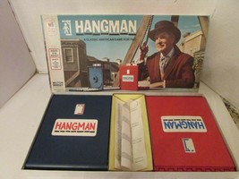 VTG 1976 MILTON BRADLEY BOARD GAME THE HANGMAN COMPLETE VINCENT PRICE - $12.69
