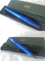 CROSS PENNA A SFERA BLU E NERA + scatola BLACK & BLUE Ball Pen + Box ORI... - $26.09