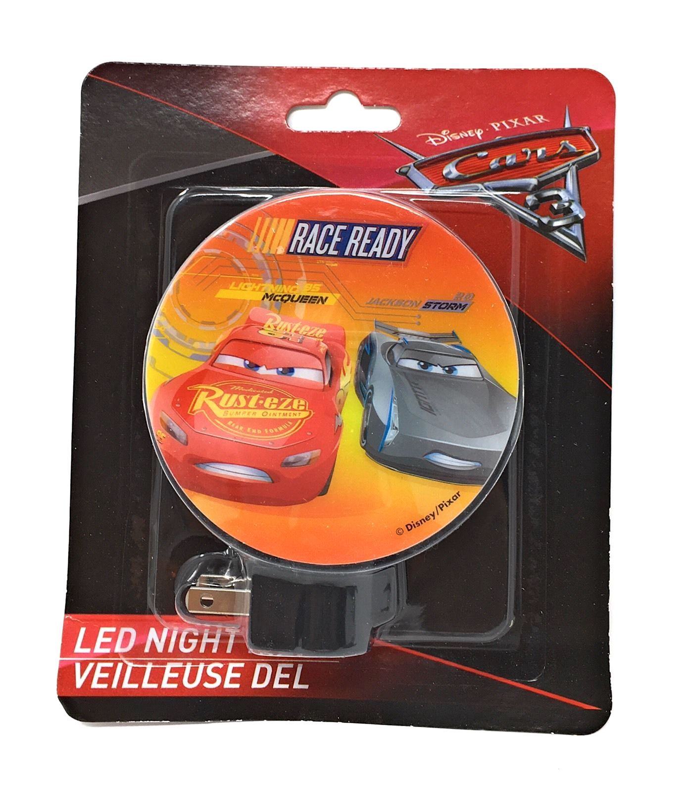 Disney Cars Led Night Light  New in Package—More Character Night Lights Too