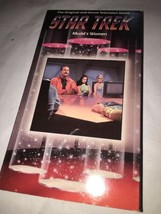 "Star Trek Original & Uncut Television Series ""Mudd's Women"" Ep. 4 VHS - $7.75"