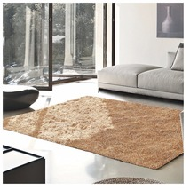 De Luxe Beige Retro Hand-Tufted Soft Shag Area Rug & Runners Multiple Sizes - $57.95+
