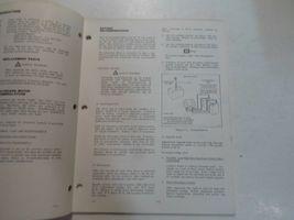 1977 Evinrude Service Shop Repair Manual Electric EB 52 54 82 84 OEM Boat WORN image 6