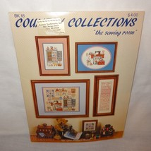 Country Collections Sewing Room Counted Cross Stitch Pattern Leaflet 18 ... - $12.99