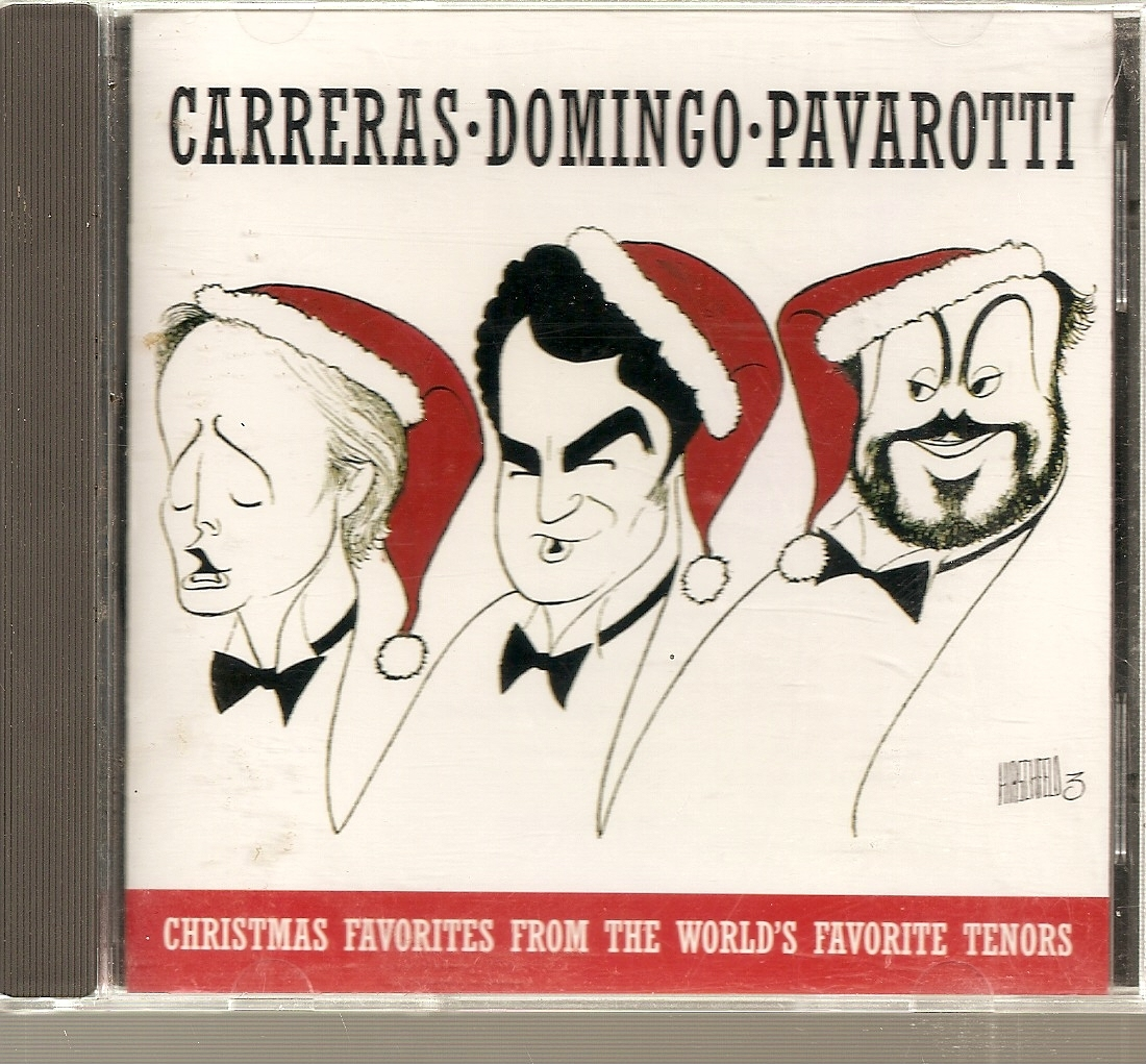 CD--Christmas Favorites from the World's Favorite Tenors by